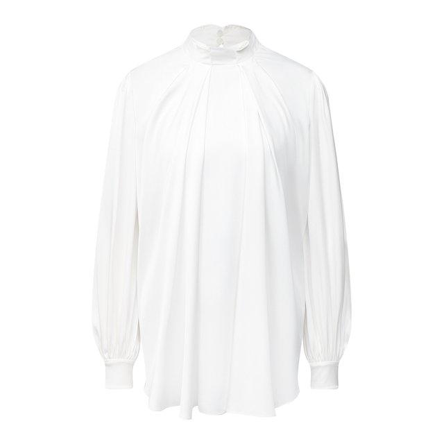 Шелковая блузка Alexander McQueen