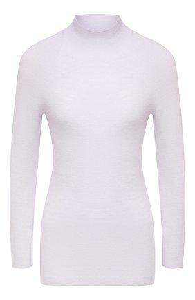 Женский кашемировый пуловер EMPORIO ARMANI светло-серого цвета, арт. 6H2MT8/2M16Z | Фото 1