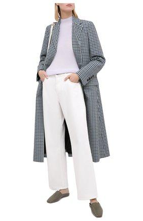 Женский кашемировый пуловер EMPORIO ARMANI светло-серого цвета, арт. 6H2MT8/2M16Z | Фото 2