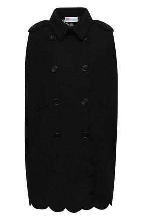 Женская кейп REDVALENTINO черного цвета, арт. UR3CG020/57J | Фото 1