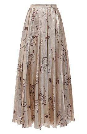 Женская юбка RALPH LAUREN бежевого цвета, арт. 290823702 | Фото 1