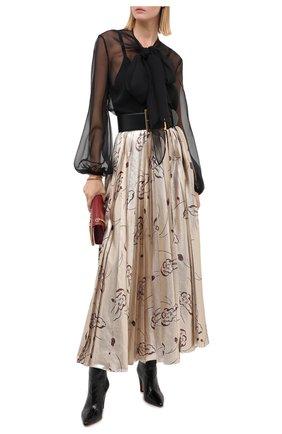 Женская юбка RALPH LAUREN бежевого цвета, арт. 290823702 | Фото 2