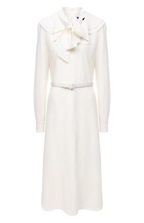 Женское шерстяное платье RALPH LAUREN кремвого цвета, арт. 290823691 | Фото 1