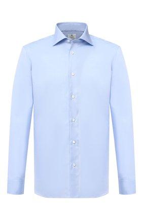 Мужская хлопковая сорочка LUIGI BORRELLI голубого цвета, арт. DR06/LUCIAN0/TS10701 | Фото 1