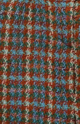 Детские шерстяные брюки GUCCI разноцветного цвета, арт. 630480/ZAE43 | Фото 3