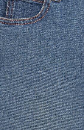 Детские джинсы GUCCI голубого цвета, арт. 629454/XDBDC | Фото 3