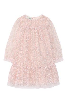 Женский платье GUCCI розового цвета, арт. 629149/ZAE02 | Фото 1