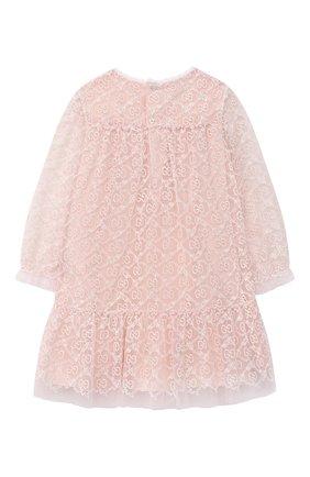 Женский платье GUCCI розового цвета, арт. 629149/ZAE02 | Фото 2