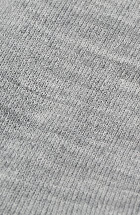 Детские носки LA PERLA серого цвета, арт. 43877/7-9 | Фото 2