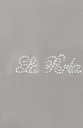 Детские колготки LA PERLA серого цвета, арт. 48048/7-8 | Фото 2