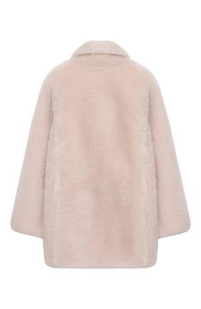 Детское шерстяное пальто YVES SALOMON ENFANT розового цвета, арт. 21WEM606XXLATI/4-6 | Фото 2