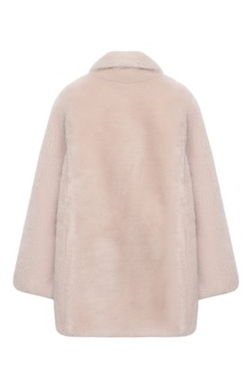Детское шерстяное пальто YVES SALOMON ENFANT розового цвета, арт. 21WEM606XXLATI/8-10 | Фото 2