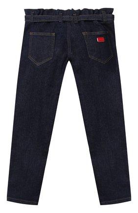 Детские джинсы DOLCE & GABBANA темно-синего цвета, арт. L52F13/LD923/8-14 | Фото 2
