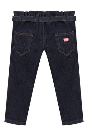 Детские джинсы DOLCE & GABBANA темно-синего цвета, арт. L52F13/LD923/2-6 | Фото 2