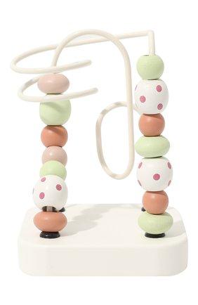 Детского развивающая игрушка лабиринт KID`S CONCEPT белого цвета, арт. 1000466 | Фото 1