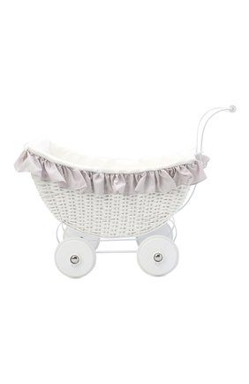 Детского игрушечная коляска для кукол MAGNI белого цвета, арт. 2701 | Фото 1