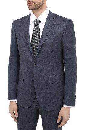 Мужской шерстяной костюм CORNELIANI синего цвета, арт. 867230-0818111/92 Q1 | Фото 2