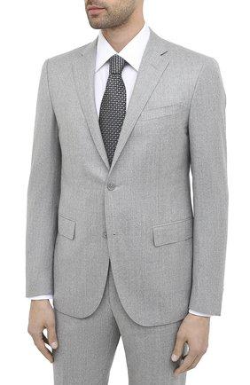 Мужской шерстяной костюм CORNELIANI темно-серого цвета, арт. 867230-0818111/92 Q1 | Фото 2