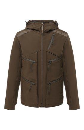 Мужская куртка C.P. COMPANY хаки цвета, арт. 09CM0W046A-005784A | Фото 1
