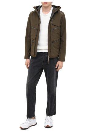Мужская куртка C.P. COMPANY хаки цвета, арт. 09CM0W046A-005784A | Фото 2