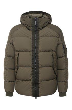 Мужская пуховая куртка C.P. COMPANY хаки цвета, арт. 09CM0W061A-005783M | Фото 1