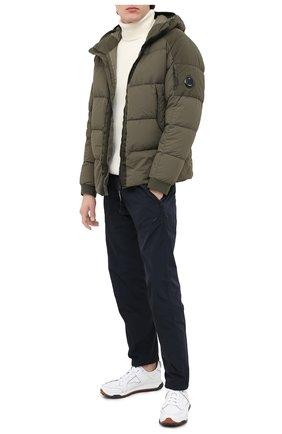 Мужская пуховая куртка C.P. COMPANY хаки цвета, арт. 09CM0W061A-005783M | Фото 2