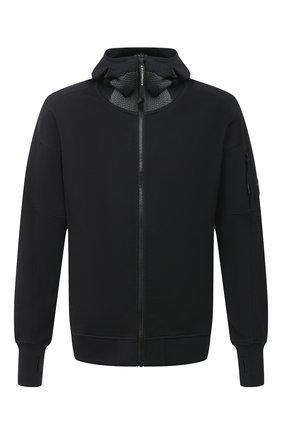 Мужская хлопковая толстовка C.P. COMPANY черного цвета, арт. 09CMSS035A-005086W | Фото 1