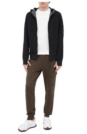 Мужская хлопковая толстовка C.P. COMPANY черного цвета, арт. 09CMSS035A-005086W | Фото 2