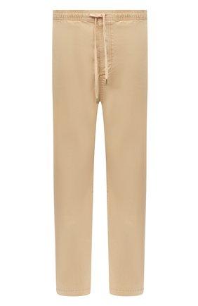 Мужской хлопковые брюки POLO RALPH LAUREN темно-бежевого цвета, арт. 710786457 | Фото 1