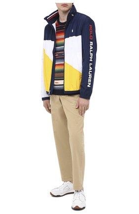 Мужской хлопковые брюки POLO RALPH LAUREN темно-бежевого цвета, арт. 710786457 | Фото 2