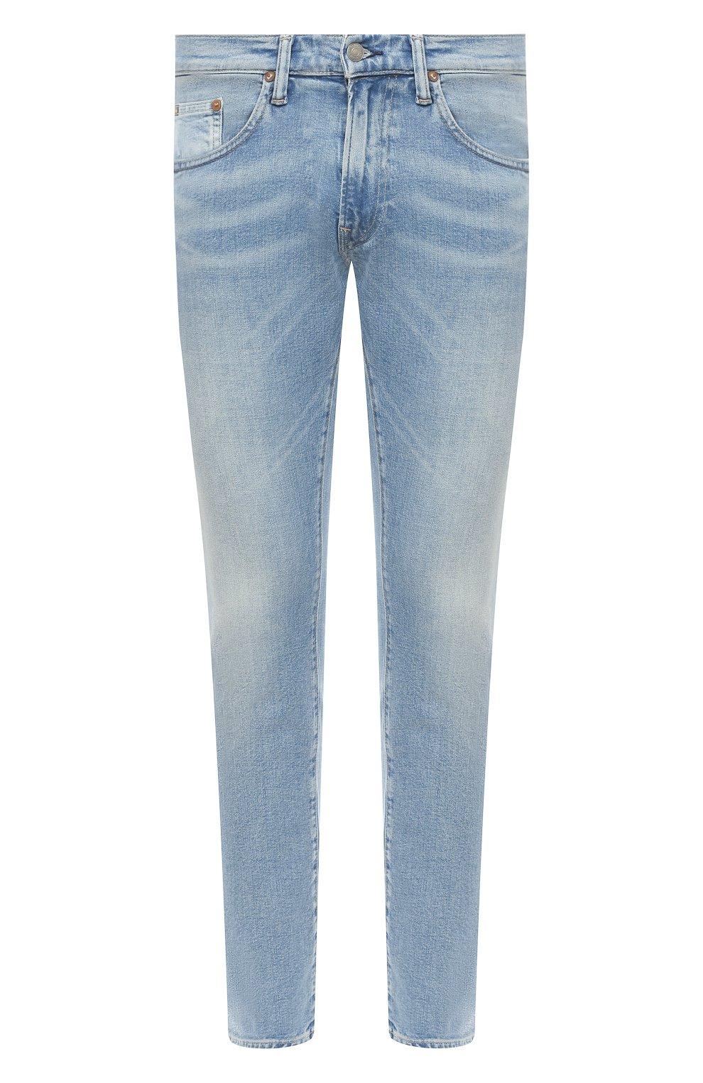 Мужские джинсы POLO RALPH LAUREN голубого цвета, арт. 710803626 | Фото 1