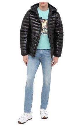 Мужские джинсы POLO RALPH LAUREN голубого цвета, арт. 710803626 | Фото 2