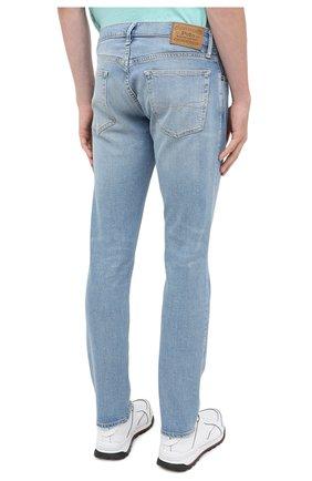 Мужские джинсы POLO RALPH LAUREN голубого цвета, арт. 710803626 | Фото 4