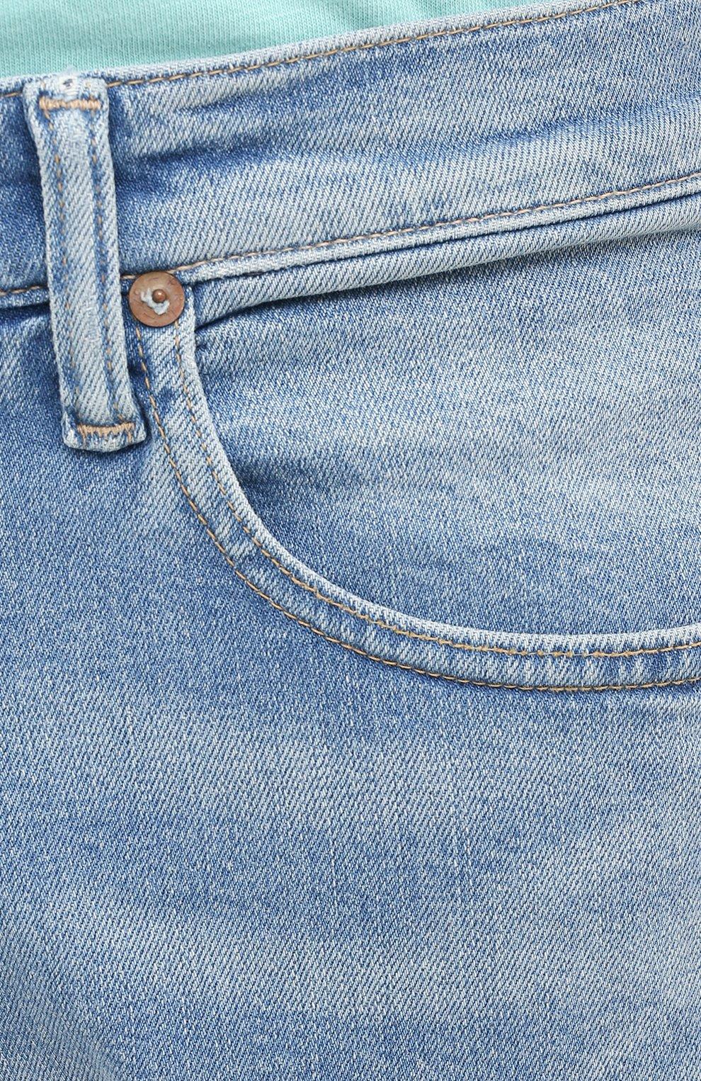 Мужские джинсы POLO RALPH LAUREN голубого цвета, арт. 710803626 | Фото 5