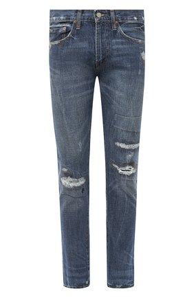 Мужские джинсы POLO RALPH LAUREN темно-синего цвета, арт. 710803631 | Фото 1