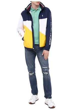 Мужские джинсы POLO RALPH LAUREN темно-синего цвета, арт. 710803631 | Фото 2