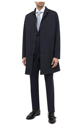 Мужской шерстяной костюм ERMENEGILDO ZEGNA темно-синего цвета, арт. 822066/221225 | Фото 1