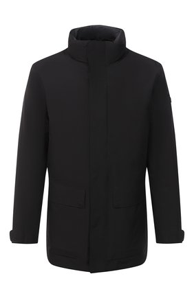 Мужская утепленная куртка Z ZEGNA черного цвета, арт. VV015/ZZ110 | Фото 1