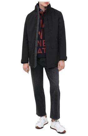 Мужская утепленная куртка Z ZEGNA черного цвета, арт. VV015/ZZ110 | Фото 2
