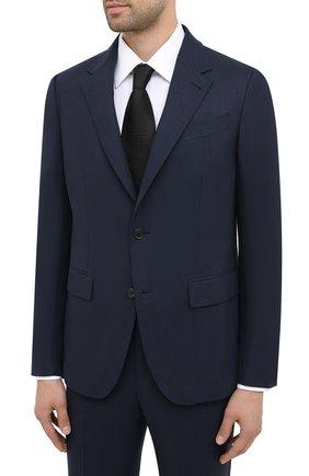 Мужской шерстяной костюм ERMENEGILDO ZEGNA темно-синего цвета, арт. 822601/20PWKL | Фото 2