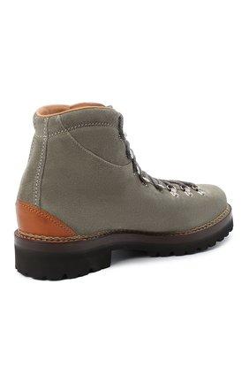 Мужские замшевые ботинки RALPH LAUREN серого цвета, арт. 815811330   Фото 4