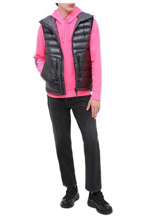 Мужской худи POLO RALPH LAUREN розового цвета, арт. 710800486 | Фото 2
