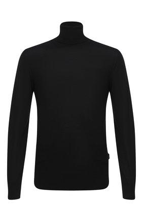 Мужской шерстяная водолазка Z ZEGNA черного цвета, арт. VVM96/ZZ120 | Фото 1