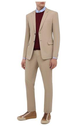 Мужской шерстяной костюм PRADA бежевого цвета, арт. UAE482-1MPI-F0065-201 | Фото 1