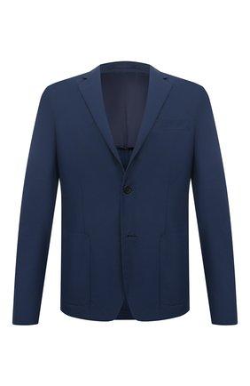 Мужской пиджак PRADA синего цвета, арт. SD081-1S5X-F0216-191 | Фото 1