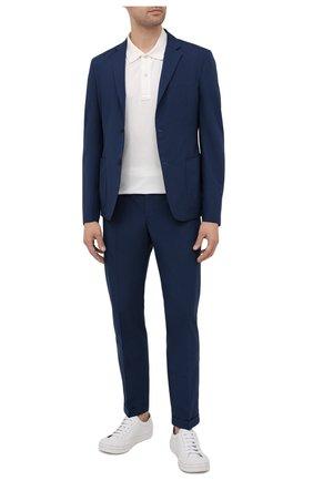 Мужской пиджак PRADA синего цвета, арт. SD081-1S5X-F0216-191 | Фото 2