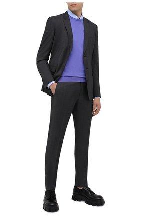 Мужской шерстяной костюм PRADA серого цвета, арт. UAE482-1N0L-F0170-201 | Фото 1