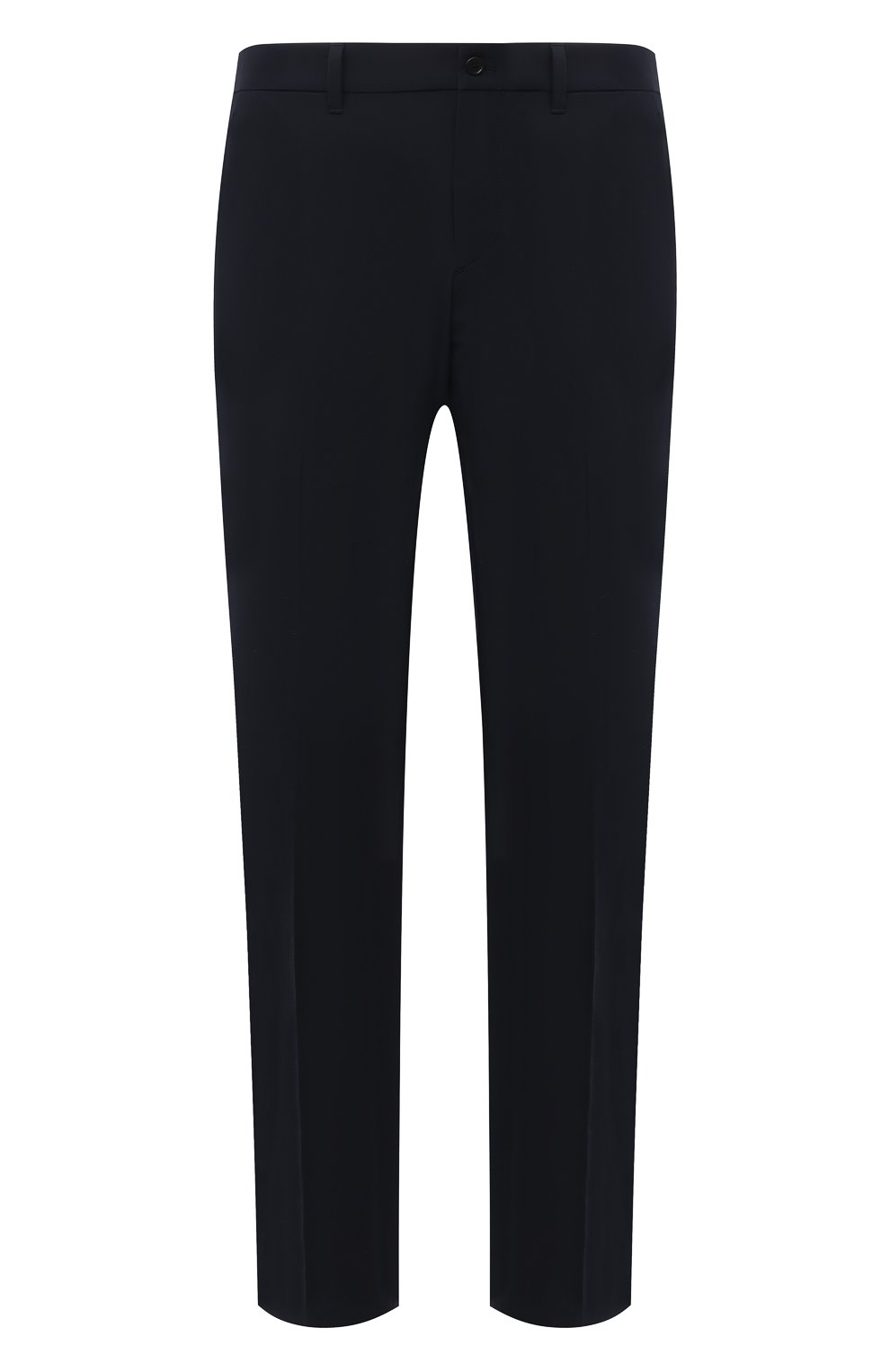 Мужские брюки PRADA синего цвета, арт. SPE12-1KJW-F0124-202 | Фото 1