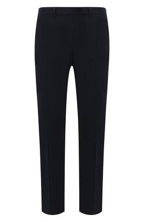Мужские брюки PRADA синего цвета, арт. SPE12-1KJW-F0124-202 | Фото 1 (Материал внешний: Синтетический материал; Случай: Повседневный; Стили: Кэжуэл; Длина (брюки, джинсы): Стандартные)