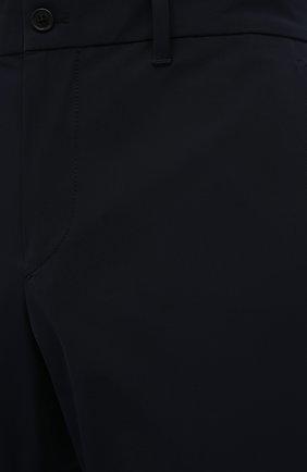 Мужские брюки PRADA синего цвета, арт. SPE12-1KJW-F0124-202 | Фото 5